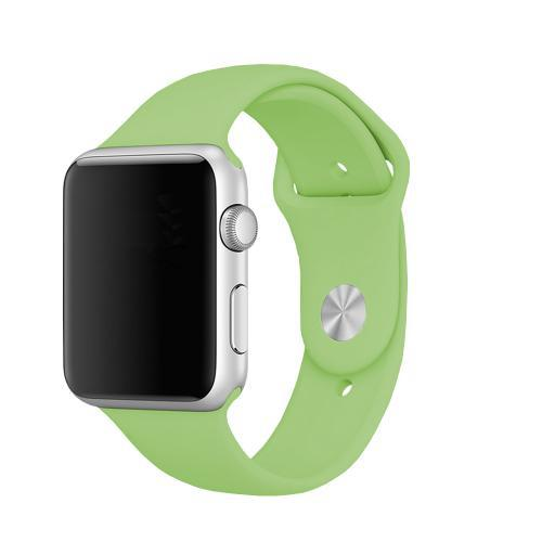 Pulseira 4LIFE para Apple Watch Silicone - 42MM - Verde