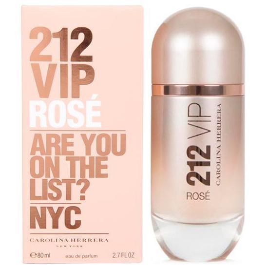 Perfume Carolina Herrera 212 Vip Rose Eau de Parfum Feminino 80ML na ... feac382afa