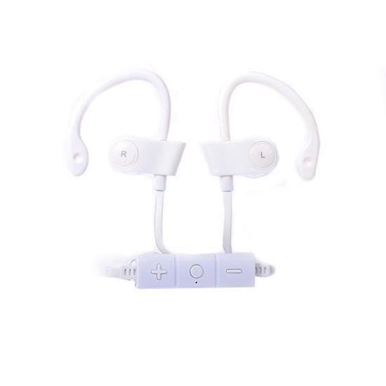 Fone de Ouvido Sem Fio BAK BK-221BT com Bluetooth/Microfone - Branco