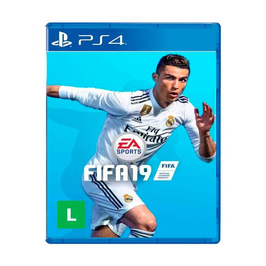 Video Jogo Sony Fifa 19 p/PS4 Ingles/Portugues