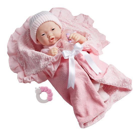 JC Toys Boneca 18784 39CM Menina Roupa Rosa e Aces