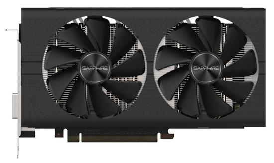 Placa de Vídeo Sappire Pulse Radeon RX570 8GB GDDR5/ PCI-e/ DP/ DVI-D/ HDMI