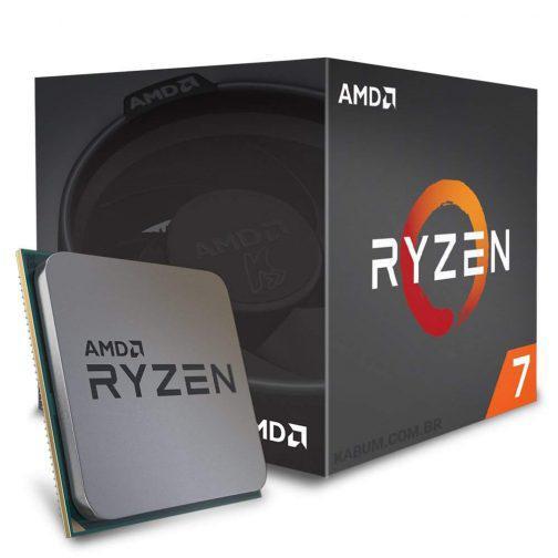 Processador AMD AM4 Ryzen R7-1700X 3.87GHZ 20MB