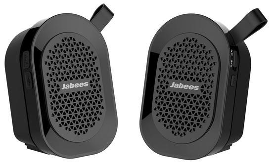 Speaker Jabees Beatbox Mini - Bluetooth 4.1 - A Prova Dagua - Preto