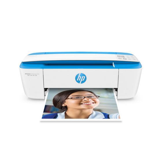 Impressora HP Deskjet Ink Advantage 3775 (J9V87A) Wireless 3 Em 1 Bivolt - Azul