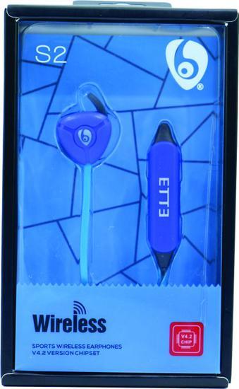 Fone de Ouvido Midi S2 - Bluetooth - Sport - Azul