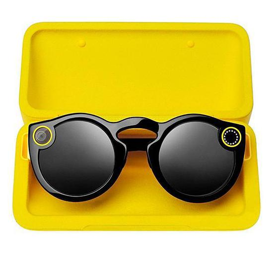 Oculos Snapchat Spectacles para Dispositivos Moveis Ios e Android - Preto