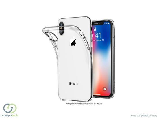 Case iPhone XR 4LIFE Silicona Transparente