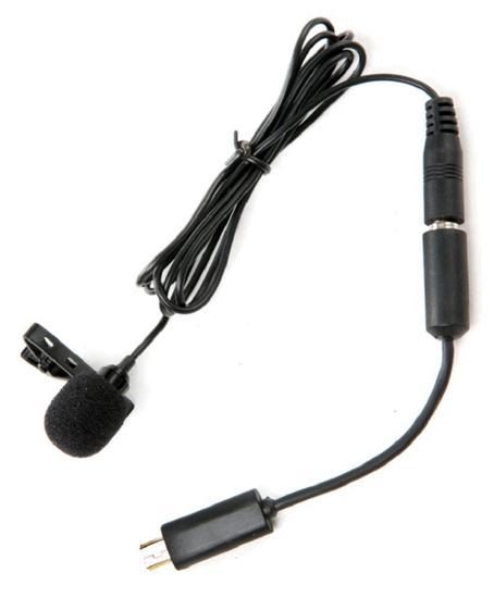 Microfone Boya Lavalier para Gopro LM20 Preto