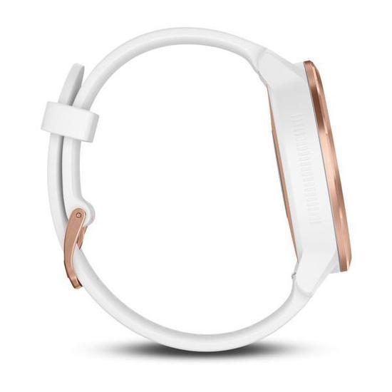 Relogio Smartwatch Garmin Vivoactive 3 (010-01769-05) Branco / Ouro Rose