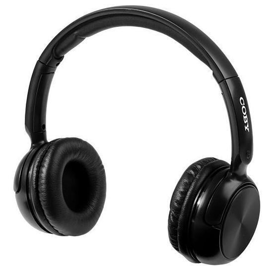 Fone de Ouvido Sem Fio Coby CBH106 com Bluetooth/Microfone - Preto