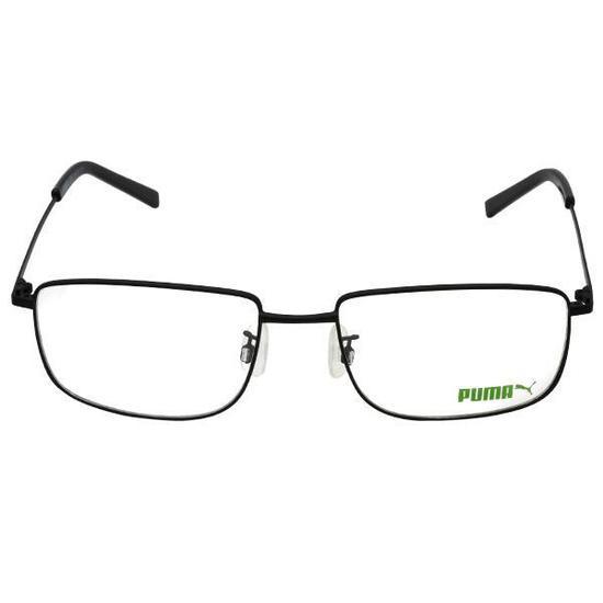 Armacao para Oculos de Grau Puma PE0060O  005  58 Masculina - Preta ... fa8659d931
