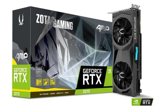 VGA Zotac RTX 2070 8GB GDDR6 Ice Storm 2.0 /3 Fan