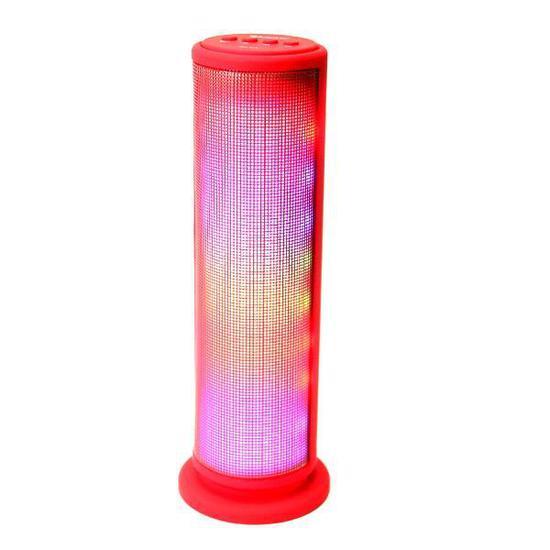 Speaker Mox MO-S70 6W com Bluetooht/USB/SD/Auxiliar Bateria 1200 Mah - Vermelho