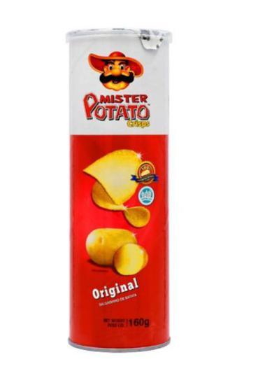 Batata Frita MR. Potato Crips Original 160GR