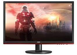 "Monitor LED AOC G2260VWQ6 22"" Full HD com Saidas de Video VGA/DP/HDMI e Audio - Preto/Vermelho"