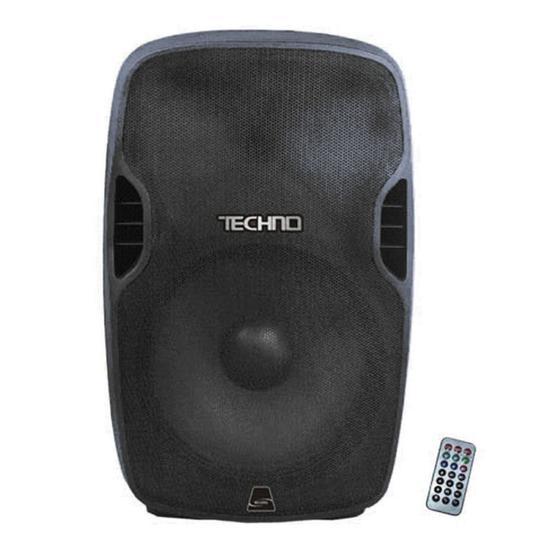 Caixa Techno T-3108 MP3/ Blue/ FM/ USB/ SD