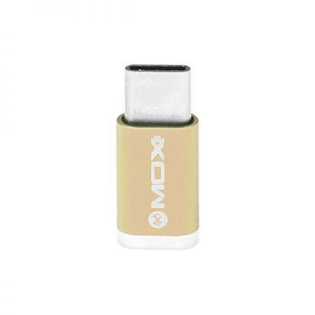 Adaptador USB para USB-C Mox MO-PL02 - Doruado