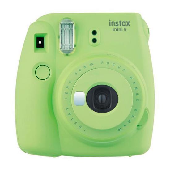 Camera Instantanea Fujifilm Instax Mini 9 com Flash/Visor A Pilha - Verde