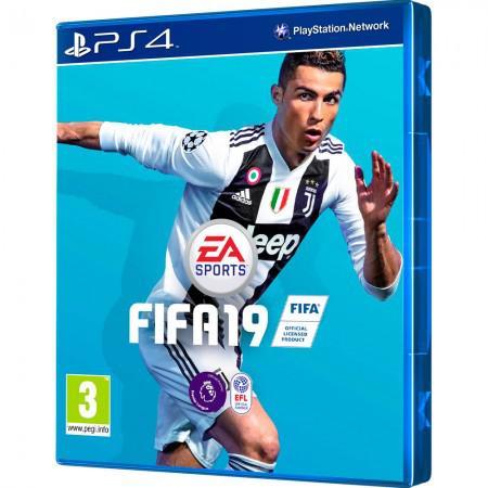 Jogo Fifa 19 Espanhol, Ingles e Frances PS4