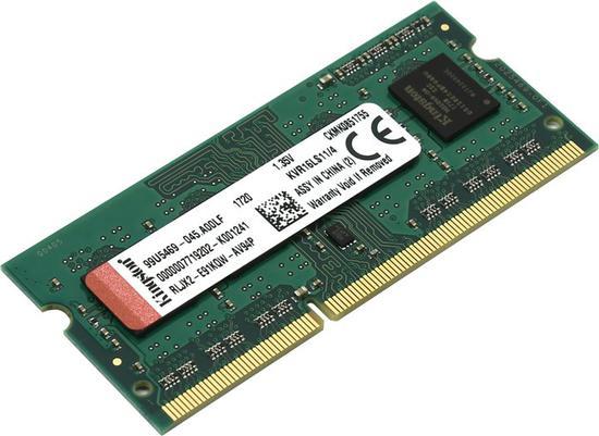 Memória NB DDR3L 4GB 1600M Kingston*