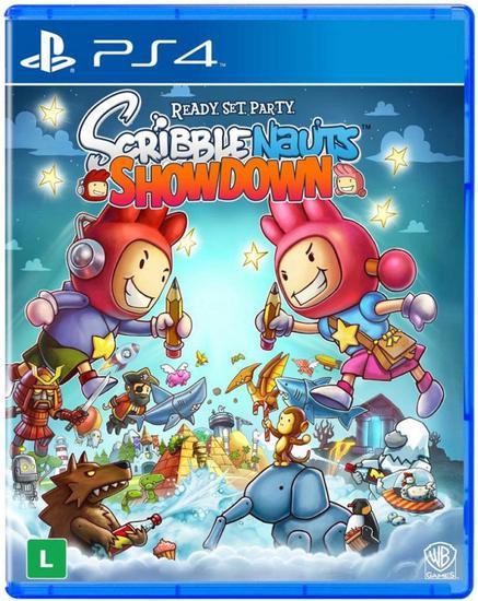 Jogo Scribblenauts Showdown Ready Set Party - PS4