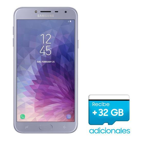 Smartphone Samsung Galaxy J4 SM-J400M Single 32GB de 5.5 13/5MP Os 8.0 + Mem 32GB/SD Promo - Lavanda