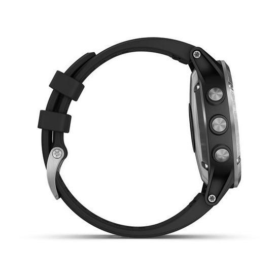 Relogio Smartwatch Garmin Fenix 5 Plus Vidro Reforcado (010-01988-10) Preto / Prata