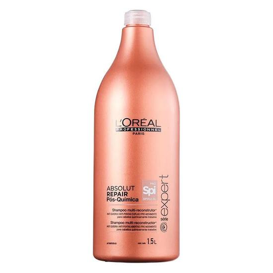 Shampoo L'Oreal Absolut Repair Pos-Quimica 1.5L