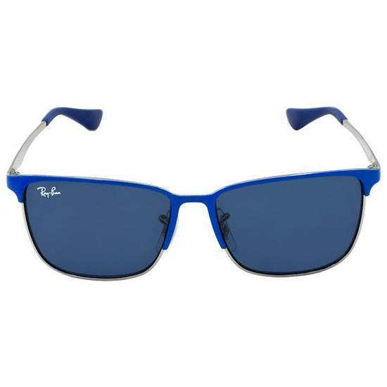 Oculos de Sol Ray-Ban Junior RJ9535S  244 80 51 Infantil - Azul na ... 64b165a061