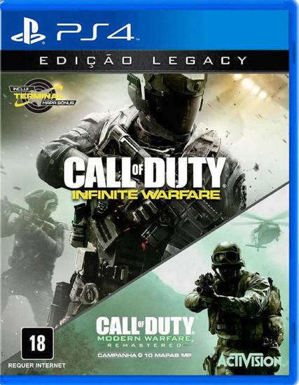 Jogo Call Of Duty Legacy Edition - PS4