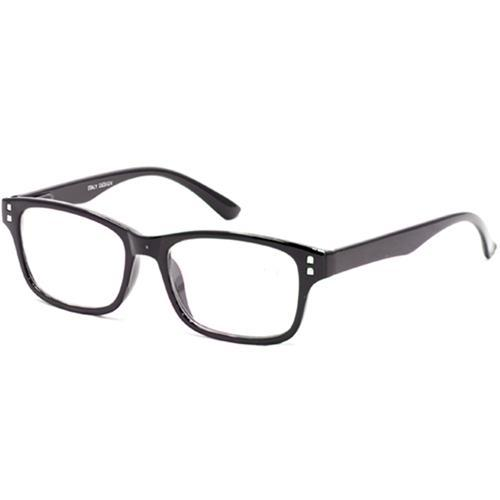 99f5f718f Oculos de Grau Italy Design SP54123 Feminino, Acetato, +1.25 - Preto ...