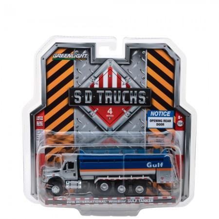 Caminhao Greenlight s.D. Trucks Series 4 Gulf 2018 Escala 1/64