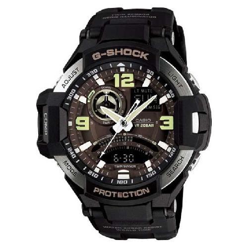 7b71c4d169c Relogio Analogico Digital Casio G-Shock Gravitymaster GA-1000-1BDR  Masculino - Preto