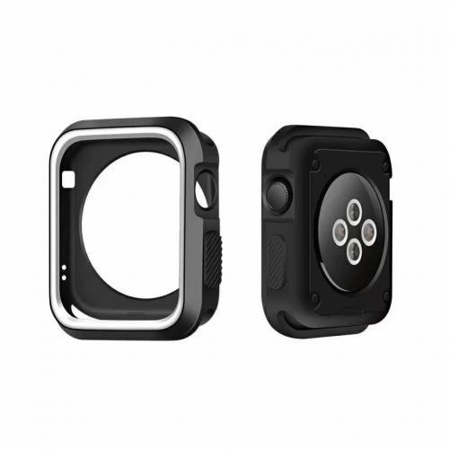 Case 4life para apple watch dual color tpu 38mm preto branco case 4life para apple watch dual color tpu 38mm preto branco thecheapjerseys