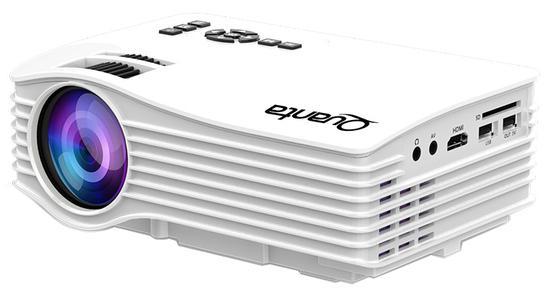 Projetor Quanta QTPRO500 1080P 30 Ansi Lumens - Branco