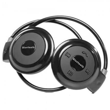 Fone de Ouvido MINI-503 Bluetooth / Micro SD - Preto