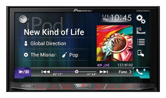 DVD Automotivo Pioneer AVHX8750BT Bluetooth