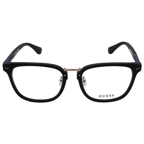 cd954f9a9c6ce Armacao para Oculos de Grau Guess 1937  002  54 Feminina - Preta na ...
