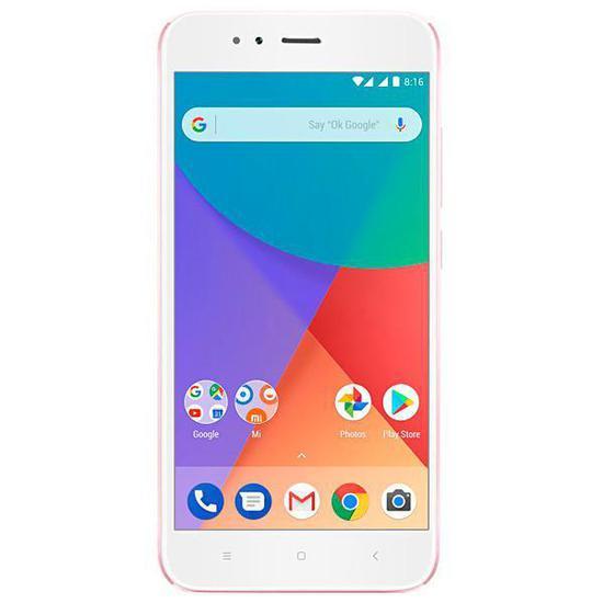 """Smartphone Xiaomi Mi A1 Dual Sim 64GB Tela de 5.5"""" 12MP/5MP Os 7.1.2 - Rosa"""