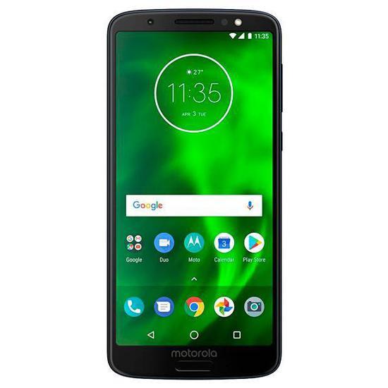 "Smartphone Motorola Moto G6 XT1925-13 Dual Sim 64GB de 5.7"" 12+5MP/16MP Os 8.0 - Preto"