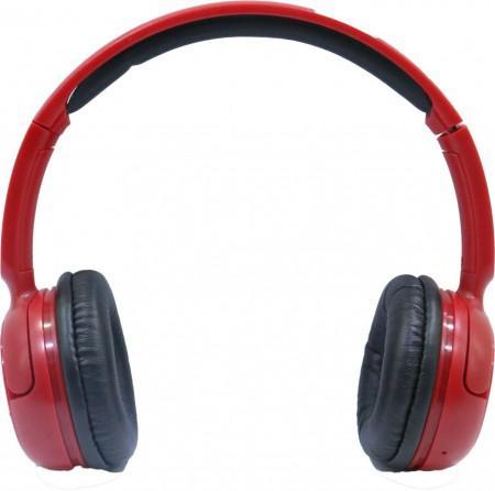 Fone Coby CBH106 Bluetooth com Microfone Vermelho