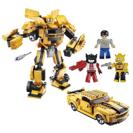 Brinquedo Kre O Transformers Bumblebee  727429 on transformers toy radio