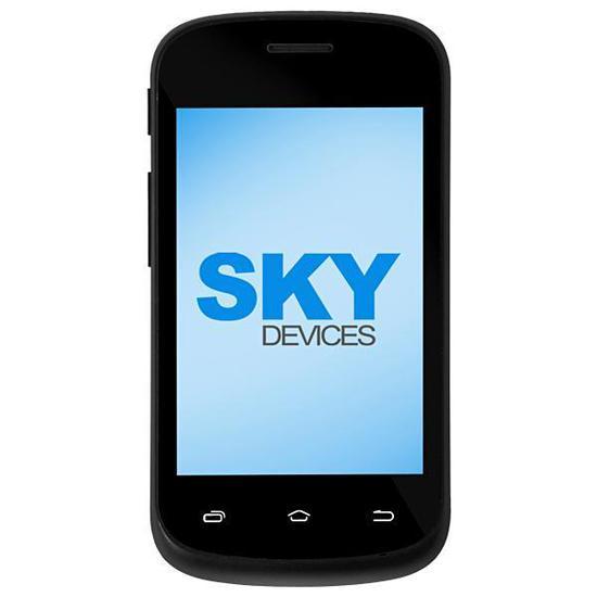 """Smartphone SKY Devices Fuego 3.5M Dual Sim 4GB de 3.5"""" 5MP Os 5.1 - Azul"""