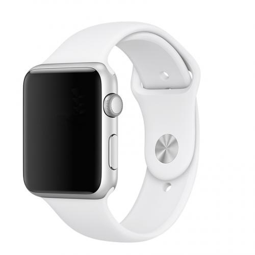 Pulseira 4LIFE para Apple Watch Silicone - 38MM - Branco