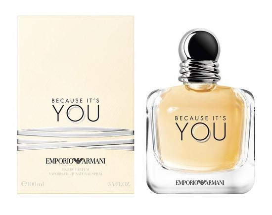 e00de861ef5 Perfume Emporio Armani Because It s You Feminino 100 ML Edp