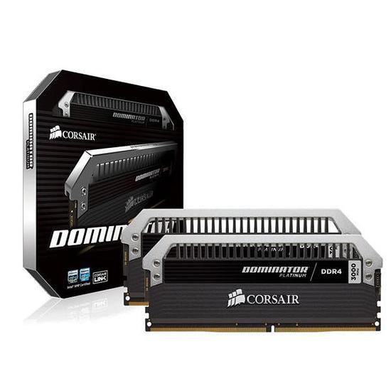 Memoria DDR4 de 8GB 3200MHZ 2X4GB Corsair Platinum Dominator