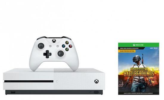 Console Microsoft Xbox One s 1TB - Battlegrounds
