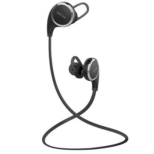Fone de Ouvido Sem Fio QCY QY8 com Bluetooth, Microfone - Preto