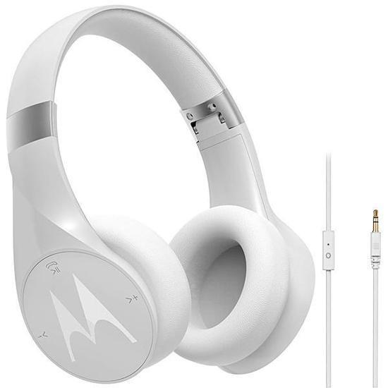 Fone de Ouvido Sem Fio Motorola Pulse Escape+ SH013 WH com Bluetooth - Branco
